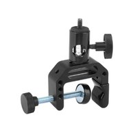 Wholesale lighting c stand resale online - CAMVATE Universal C Clamp With quot quot Male Female Thread Mounting Points Light Stand Head Adapter Item Code C2478