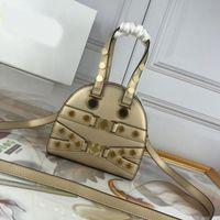 modelo de bolsa venda por atacado-Bolsas de grife bolsa Medusa bolsa de boliche modelo mulheres bolsas de grife bolsas de ombro crossbody bolsa de couro real