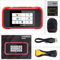leitor de código airbag gm venda por atacado-Lifetime lançamento X431 CRP123E Código OBD2 Leitor Diagnostic Scanner atualização gratuita Apoio Motor ABS Airbag SRS Transmission