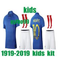 04a0c3e10 Wholesale kids soccer jersey france for sale - KIDS kit France Special  Edition Centenary soccer jerseyS