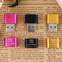lecteur flash de carte chinoise achat en gros de-Portable Mini USB 2.0 Micro SD TF Lecteur de Carte Mémoire Adaptateur Flash Drive SD Mémoire Flash En Gros Livraison gratuite made in China