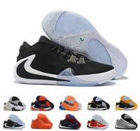 Wholesale greek lace resale online - 2019 New ZOOM Greek Freak Giannis Antetokounmpo Black Orange Gold GA I S Signature Basketball Shoes Trainer GA1 Sports Sneakers