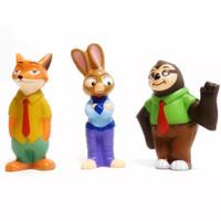spielzeug stadt großhandel-2019 Neue Ankunft matschig Spielzeug 16cm verrückt Tier Stadt squishies Puppen langsam Spielzeug für Erwachsene Dekompression Kinder steigen funy Spielzeug