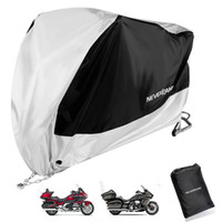 ingrosso copertura nera del motociclo-XXXL BlackSilver Moto copertura per Honda Goldwing GL1800 1500 1200 1000 1100