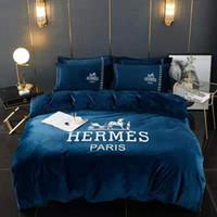 Wholesale new bedding styles for sale - Group buy Branded Letter Print Warm Cotton Bedding Sets Designer New Household Bedroom Cotton Home Bedding Comforter CM