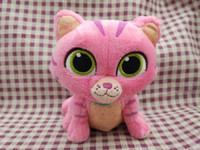 Wholesale cat games for kids online - 6 Inch Docs Mcs tuffins Plush Doll Cat Plush Marvel GOOSE Cute Pink Stuffed Animals Gifts For Kids