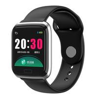 Wholesale italian fashion bracelets resale online - CY05 Smart Watch Bracelet Inch Color Screen Fashion Sports Waterproof Fitness Activity Tracker With Heart Rate Blood Pressure