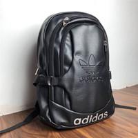 okul çantaları öğrencisi toptan satış-Ünlü Spor Marka Kadın Erkek Sırt Çantası Rahat Öğrenci Okul Çantaları Gençler Yüksek Kaliteli Bookbag Bilgisayar Çantası