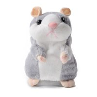 Wholesale repeating talking toy for sale - Group buy Talking pet hamster electronic animal stuffed toys imitated and repeated words and sounds special birthday gifts for childre