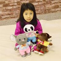 ingrosso animali da ripieno koala-Nuovo 10 pollici Koala Panda Animali di peluche Bambola Mouse Giocattoli di peluche Carino bambola di peluche per bambini Giocattoli Regali di compleanno per bambini