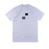 ingrosso magliette boxe-Maglietta degli uomini di New fashion 18FW Box Logo X des Tee Street Skateboard Uomini Tee Fashion Maniche corte Casual Outdoor LOGO T-shirt stampate