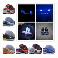 ingrosso illuminare gli uomini di scarpe da basket-2019 Nuovo Arrive Men Lights UP PG 2 PlayStation Taurus Road Master Scarpe da Basket Paul George II PG2 2s PS Sport Sneakers Taglia 40-46