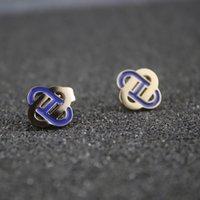 nariz 14k al por mayor-14 k Pendientes de oro para mujer Clip en pendientes Joyería de diseño del perno prisionero de la nariz Mujeres Regalos de San Valentín