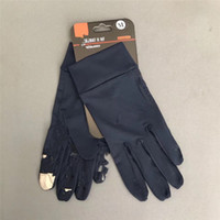 Wholesale free size gloves for sale - Group buy Brand U A Touch Screen Gloves Designer All Seasons Unisex Ultra thin Outdoor Soccer Cycling Full Fingers Gloves for Men Women Hands C81502