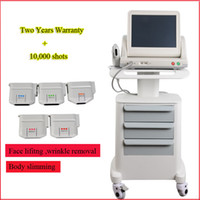 Wholesale focus standards online - FDA standard cartridges HIFU face machine High Intensity Focused Ultrasound face lifting wrinkle removal beauty system