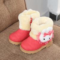 44791316cc844c Stivali moda bambina Stivali primaverili autunnali per bambini Cerniera per bambini  Scarpe impermeabili Martin Boot Ankle Anti-slide