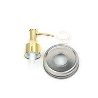ingrosso top dosatore di sapone-Dispenser di sapone in ABS oro 28/400 Berretta per shampoo in plastica