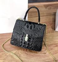 ingrosso marchi di lusso-Gao borsa in pelle borsa del progettista di lusso signore borsa dell'unità di elaborazione della catena di cuoio borsa di marca selvaggio marchio spalla 2019 alta qualità di modo L8