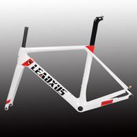 Wholesale carbon frame s for sale - LEADXUS Newest Disc Brakes Carbon Road Bike Frame T800 Thru Axle Disc Brake Carbon Fiber Bicycle Frame XS S M L XL