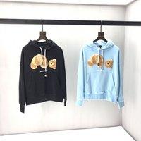 i̇talyan giysileri toptan satış-19FW Lüks Kış Avrupa İtalya Havlu Işlemeli Kırık Ayı Hoodies Moda Erkekler Giyim Kapüşonlu Kazak Kadın Hoody