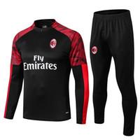 команда milan оптовых-2019 -2020 гг. AC Milan комплект спортивной куртки для спортивного костюма 19-20.