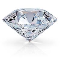 diamante rojo suelto al por mayor-RINYIN suelta la piedra preciosa 2.0ct diamante blanco color D VVS1 excelente corte brillante redondo 3EX Moissanite con el certificado CJ191219