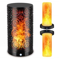 мигающая свеча оптовых-BRELONG декоративного пламени мигания лампочки, USB перезаряжаемые водонепроницаемый светодиодный мигающий марочные фонарь пламени свечи свет