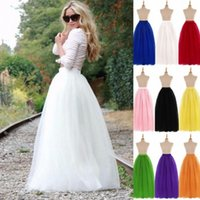Wholesale yellow petticoats for sale - Group buy 2020 Long Bridal Wedding Petticoat Crinoline Ball Gown Skirt Underskirt Wedding Accessories Jupon Marriage New wedding dress