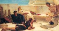 ingrosso dipinti ad olio figure astratte-Dipinti di fama mondiale Decorazioni per la casa dipinte a mano Pittura a olio astratta su tela Ragazza Figura giù Donna