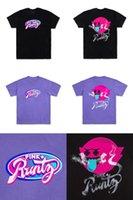 erdbeer-t-stücke großhandel-Rosa + RUNTZ T-Shirt Gelato DO-SI-DOS Erdbeerdschungel-Kuchenaromen T-Stück 420 Kapsel - Rosa + Delphin-T-Shirt Nehmen Sie Gewohnheit an
