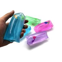 шарики вода оптовых-Новая вентиляционная игрушка Скользкий не может поймать водную змею, игрушка странный подарок новизны, декомпрессия водяного столба, шарик.