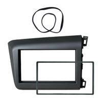 Wholesale car dvd installation resale online - Car Radio Fascia Frame DVD Din Panel Stereo Interface Refit Installation Kit For HONDA Civic RHD Dash Frame