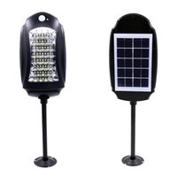 Waterproof 32led Solar Street Lamp Outdoor Garden Lights Motion Sensors Wall Safety Road Emergency Light with remote