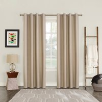 telas amarillas al por mayor-100% Tasa de sombreado estilo moderno sólido cortina del apagón del color para el dormitorio ventana de la sala Tela Cortinas por encargo