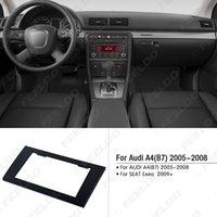 ingrosso fascia di autoradio-Kit adattatore per montaggio cornice telaio stereo stereo radio 2DIN per AUDI A4 (B7) 2005-2008 / SEAT Exeo 2009+ # 5037