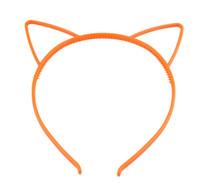 plastik keltisches stirnband großhandel-Katze Ohr Stirnbänder Kinder Haarnadel Schmuck Kunststoff Stirnband Haarschmuck