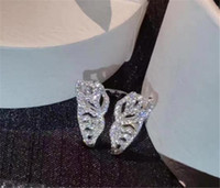 Wholesale anniversary gifts free shipping for sale - Group buy Luxury diamond Wedding Rings Designer Sparkly Elegant butterfly Rings For Women Wedding Party Fashion Jewelry Gifts
