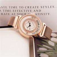 lunette en or blanc achat en gros de-38mm hommes montre bracelet en or rose montre bracelet en alliage lunette bracelet noir / blanc montres à quartz