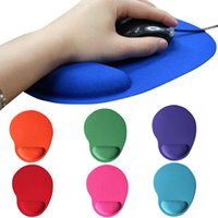 Wholesale wrist support for mouse for sale - Group buy Universal Anti slid Soft EVA Wrist Cushion Pad Gaming Mouse Mat for PC Laptop with Wrist Support