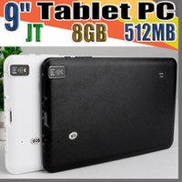 Wholesale actions inch tablet for sale - Group buy JT quot Inch Quad Core Android Tablet PC Actions Dual Camera MB GB Capacitive Touch Screen GHZ WIFI Allwinner A33 B PB