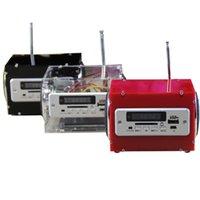 kit de amplificador bluetooth venda por atacado-Heap Chips Amplificador Operacional LEÓRIA DIY Mini DC 5 V 2x3 W Multi-função Sem Fio bluetooth Amplificador de Potência Pequena Kit Com MP3 A ...