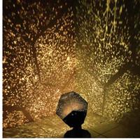 gökyüzü projeksiyon projektörü toptan satış-LED Yıldız Usta Gece Işık LED Yıldız Projektör Lambası Astro Sky Projeksiyon Cosmos led Gece Işığı Lambası çocuk Hediye Ev Dekorasyon