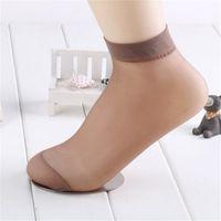 f5934db68 New crystal short stockings female black flesh-colored thin section short  stockings stockings socks wholesale free shipping W21