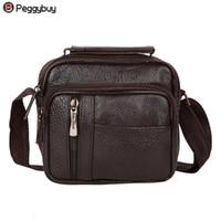 1171492d5ffd Pu Leather Men Messenger Bag Vintage Mens Handbag Man Crossbody Bag For Men  Business Handbag Travel Shoulder Designers Brand