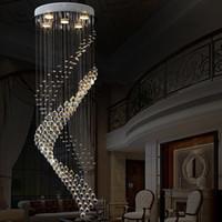 crystal hotel lobby luz de candelabro venda por atacado-estilo de Europa Real cristal sótão do candelabro do vintage com GU10 5 luzes para sala de estar quarto de hotel restaurante do lobby corredor