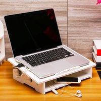 kühler für laptop großhandel-Einfache Laptop-Halter Notebook Kühlung Stand Pad Computer-Display Speicher Laptop-Zubehör Auto-Standplatz