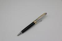 schwarz stationär großhandel-Ag925 MB Kugelschreiber Meisterstucks Silberstriche aus schwarzem Gold mit schwarzen Serienmaterial und Seriennummern