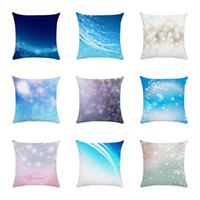 Wholesale snowflake cover for sale - Group buy Snowflake Christmas Cushion cover Geometric Printed pillowcases Linen Pillow covers Sofa x45cm Living Room Cushion ZY1303
