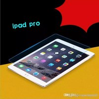 pc livre da tabuleta da polegada do transporte de dhl venda por atacado-2018 Aplicável ao iPad Pro filme de vidro temperado Tablet PC de alta definição anti-impressão digital película de proteção 12.9-inch frete grátis DHL