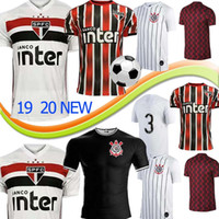 Wholesale thailand jersey soccer brazil resale online - Thailand Brazil Sao Paulo soccer home away quality jerseys Americas Cup Brasil adult man COUTINHO VINICIUS football shirts